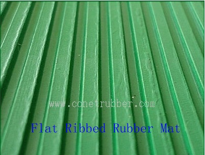 Ribbed rubber sheet --- Conet