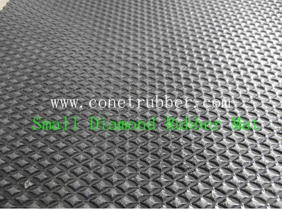 Small Diamond rubber mat